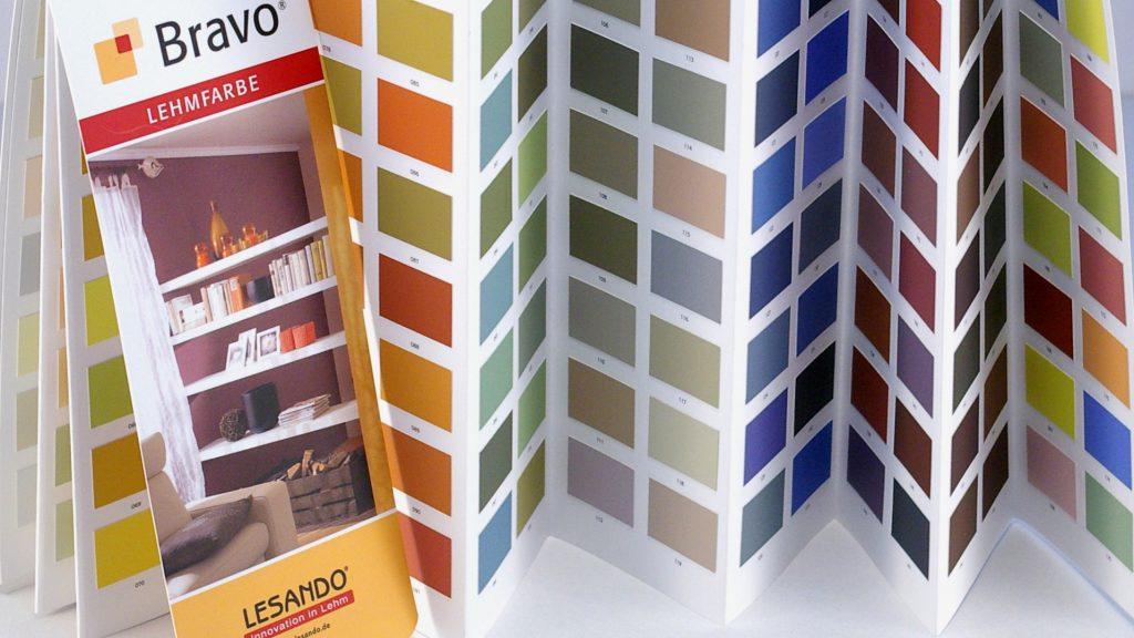 Lehmfarben Sonderaktion - Lesando Bravo Farbtonkarte